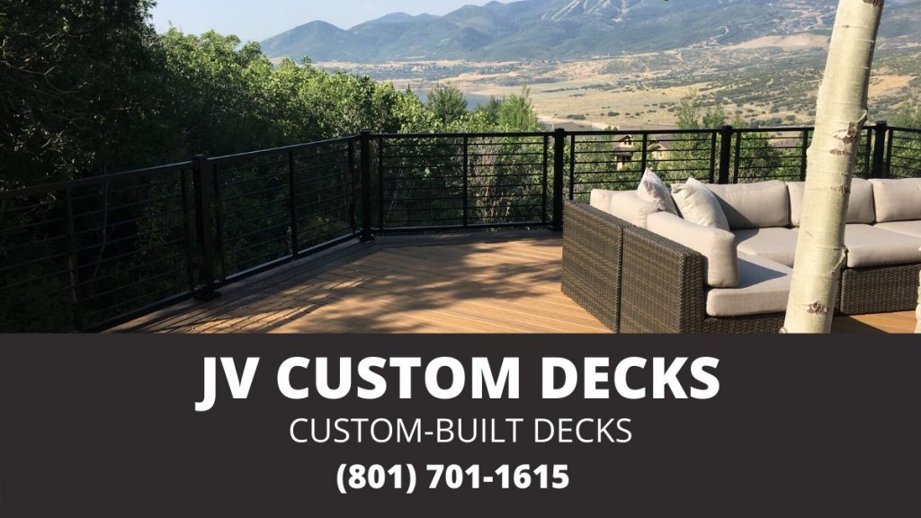 Custom-Built Decks in Salt Lake